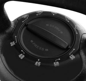 Cast iron adjustable kettlebell