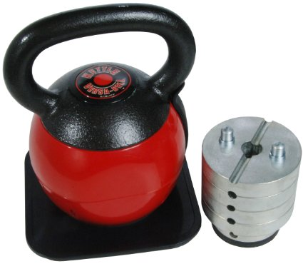 Stamina 36-Pound Adjustable Kettlebell