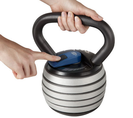 Reebok Adjustable Kettle Bell, 20-Pound Review