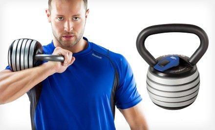 Reebok Adjustable Kettle Bell