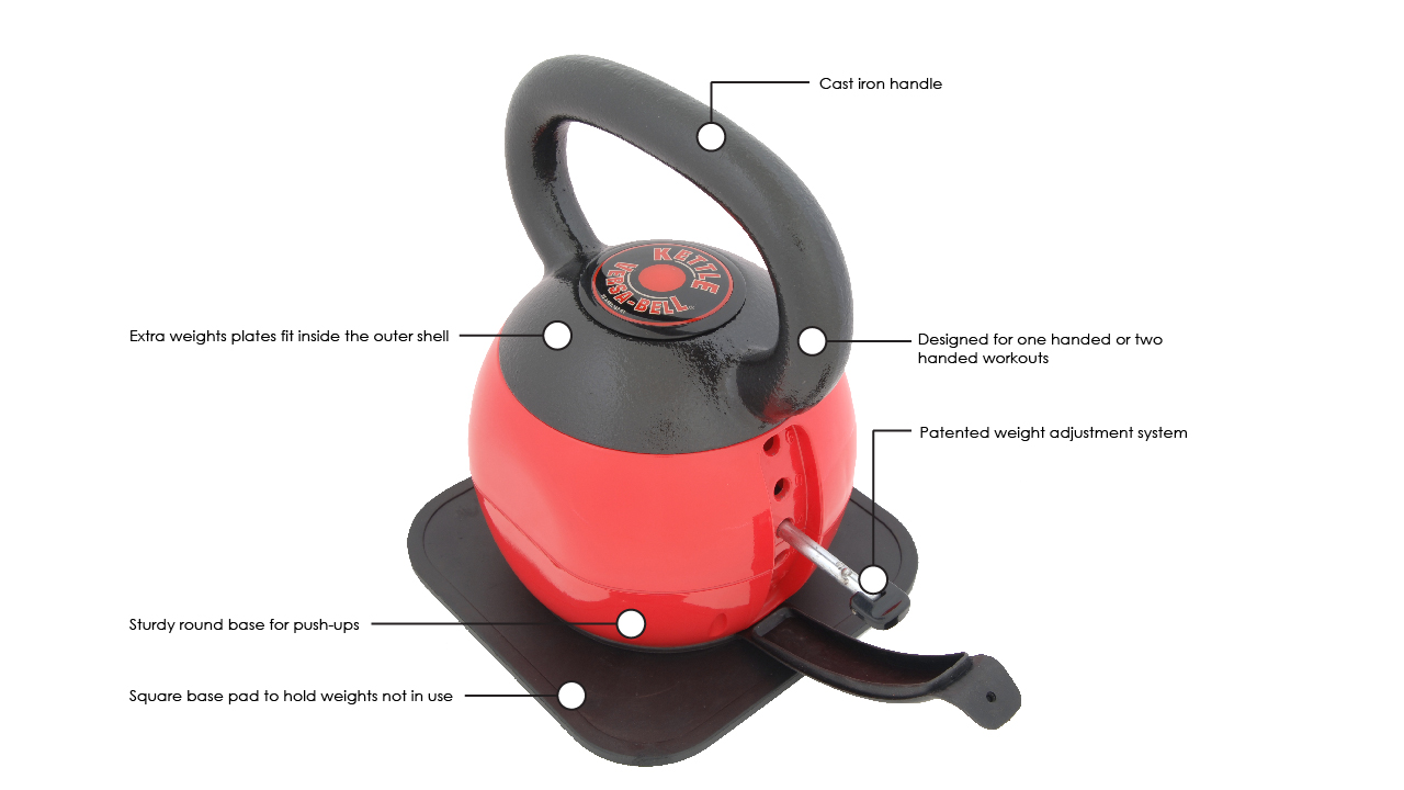 Stamina Adjustable Kettlebell