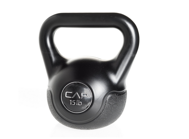 CAP Barbell Vinyl Coated Cement kettlebell