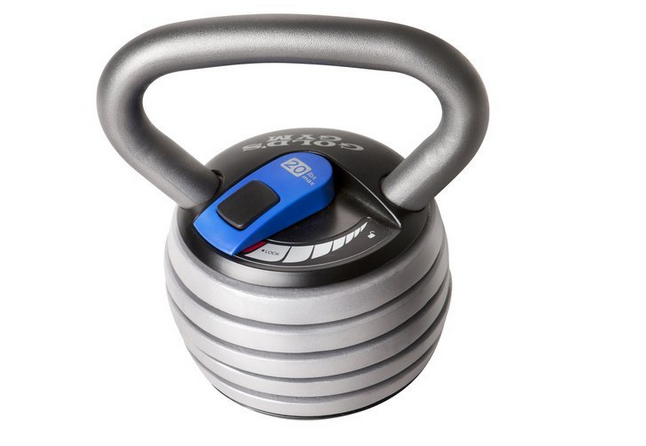 Gold's Gym Extreme Adjustable Kettlebell Review