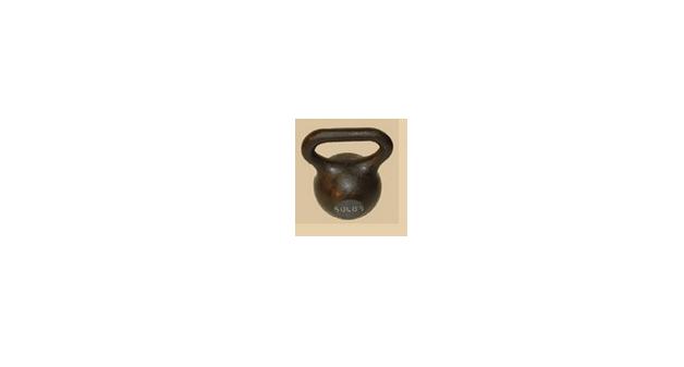 50 lb Wide Handle Kettlebell