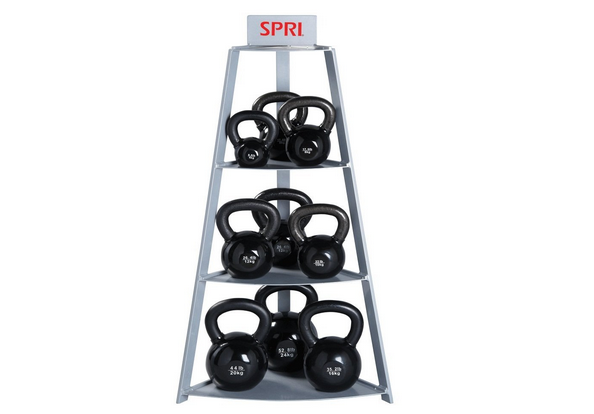 SPRI Steel Kettle Bell Rack Review