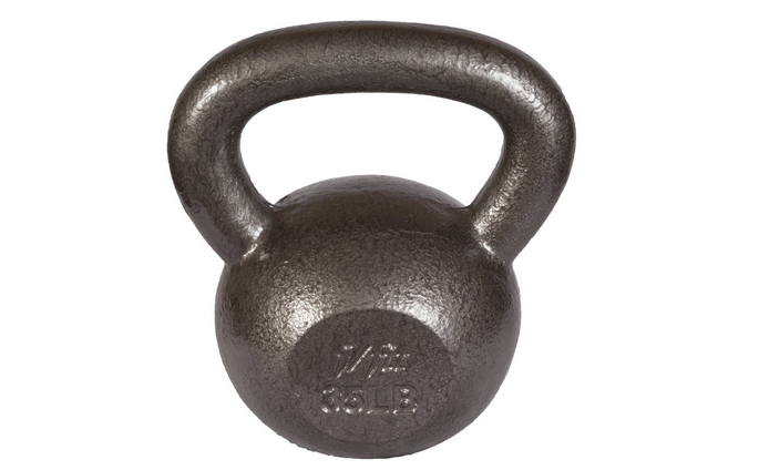 J fit Cast Iron Kettlebell Review